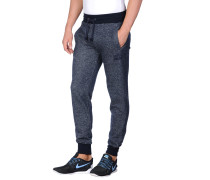FITTED CUFFED JOG PANTS WITH FLOCK ARCH LOGO Hose