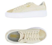 Basket Platform Canvas Wn's Low Sneakers