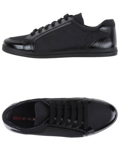 prada damen low sneakers tennisschuhe prada sport reduziert. Black Bedroom Furniture Sets. Home Design Ideas