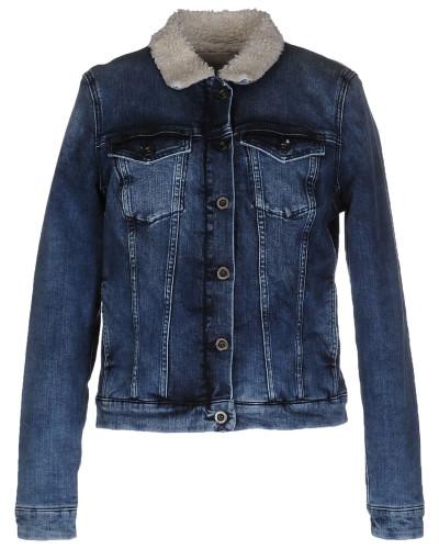 calvin klein damen jeansjacke mantel calvin klein jeans reduziert. Black Bedroom Furniture Sets. Home Design Ideas