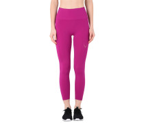 CORE TECHNICAL KNIT 7/8 LEGGINGS IN SUPER SOFT SEAMLESS KNIT WITH COMPRESSION KNIT RIB WAISTBAND Leggings