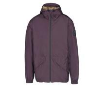 Zip Hood Inner Fur Jacket Jacke