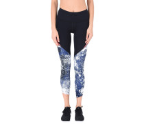 RUN TRUE PRINTED CROP Leggings