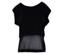 Cool Tee with Mesh Top