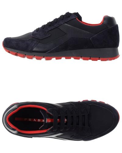 prada herren low sneakers tennisschuhe prada sport 5 reduziert. Black Bedroom Furniture Sets. Home Design Ideas