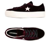 ONE STAR PLATFORM OX VELVET Low Sneakers
