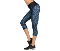 UA HG Armour Printed Capri-WTR Leggings