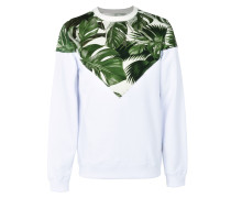 VEE CREW DIGI V PRINTED INSERT CREWNECK SWEATSHIRT Sweatshirt