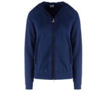 FELPA ZIP MISTO SATEEN + FELPA Sweatshirt