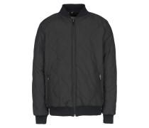 Printed Quilted Reversible Zip Varsity Jacket Jacke