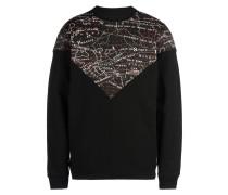 VEE CREW DIGI FLUX Insert Crewneck Sweatshirt Sweatshirt