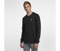 Hurley Peli Langarm-T-Shirt für Herren