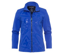 Softshelljacke Rank blau