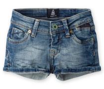 Jeansshorts Leech Alameda Girls blau Mädchen