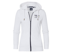 Sweatjacke Open Sea weiß