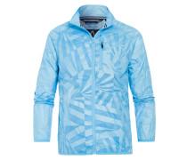 Jacke Hail Printed blau