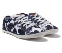 Sneaker Trip Flower blau