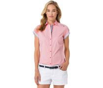 Kurzarmbluse Galley pink