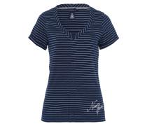 T-Shirt Aft blau