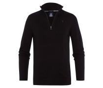Pullover Royal Half Zip schwarz