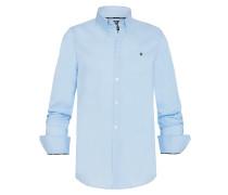 Hemd Royal Sea Poplin blau