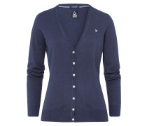 Strickjacke Royal Sea blau
