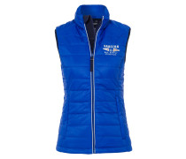 Steppweste List Classics blau
