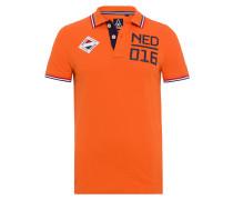Poloshirt Niederlande orange