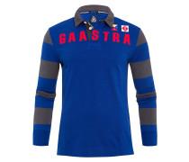 Rugby Shirt Juste blau