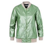 Jacke Metallic Lanyard grün
