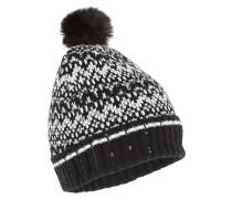 Mütze Echo Jacquard schwarz