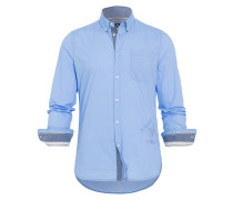 Hemd Ballast blau