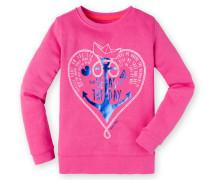 Sweatshirt Swan Girls Mädchen pink