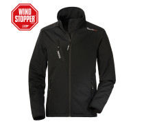 Softshelljacke Boston schwarz