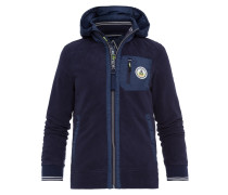 Fleecejacke Pitch blau