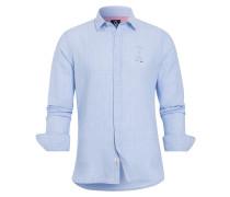Hemd Binte blau
