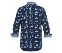 Hemd Ballast Sailboats blau