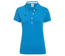 Poloshirt Genua blau