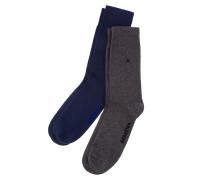 2er-Pack Socken blau