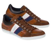 Sneaker Spin Stripes braun