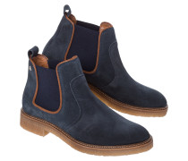 Ankle Boots Bridle Suede blau