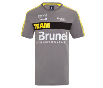 T-Shirt Team Brunel grau