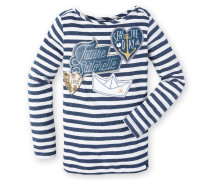 Langarmshirt Serve Girls blau Mädchen
