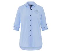 Bluse Fang Rayon blau
