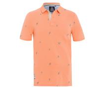 Poloshirt Boat orange