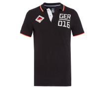 Poloshirt Deutschland schwarz