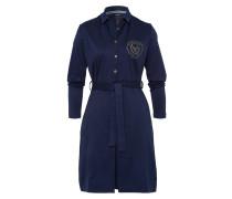 Kleid Astern blau