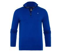 Pullover Royal Half Zip blau