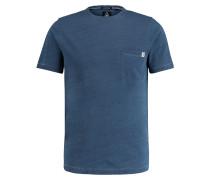 T-Shirt Dusk blau
