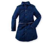 Kleid Scudd Dobby Girls blau Mädchen